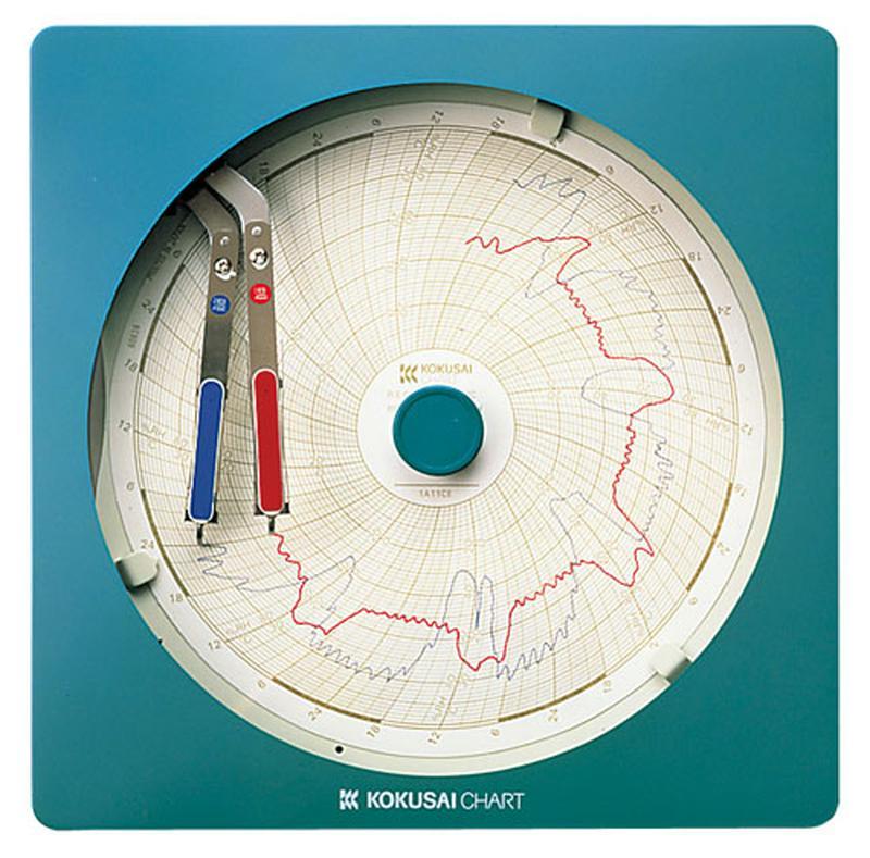 [TKG16-0559] 温湿度記録計 温湿きろく君 KC10-WW8日用