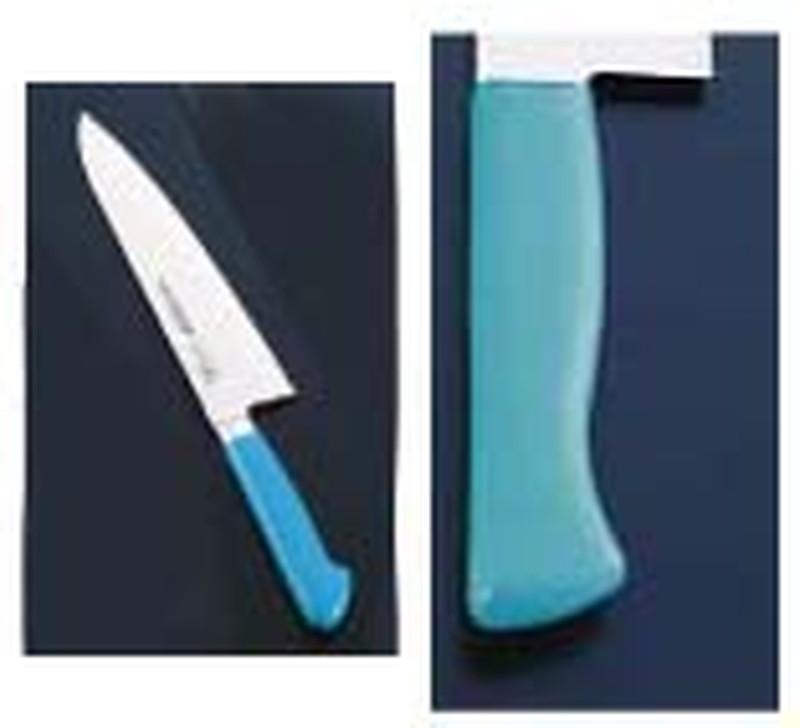 抗菌カラー庖丁 牛刀 24cm MGK-240グリーン 7-0319-0511 洋庖丁(牛切) (TKG17-0319)