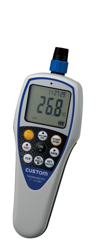 [TKG16-0549] 防水型デジタル温度計 CT-5200WP  (センサー別売)