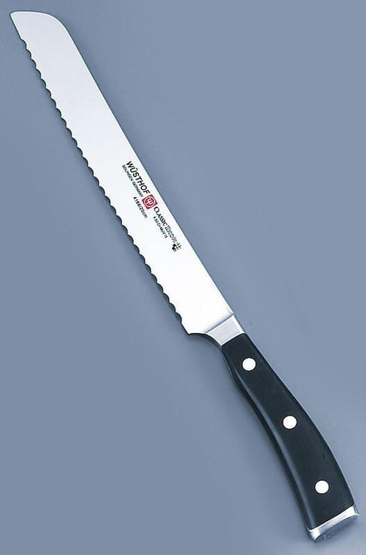 [TKG16-0295] クラッシックアイコン ブレッドナイフ 4166-23 23cm