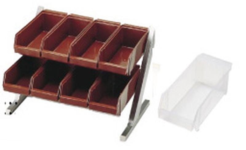 [TKG16-0773] SA18-8コンパクトオーガナイザー 2段4列(8ヶ入)ホワイト