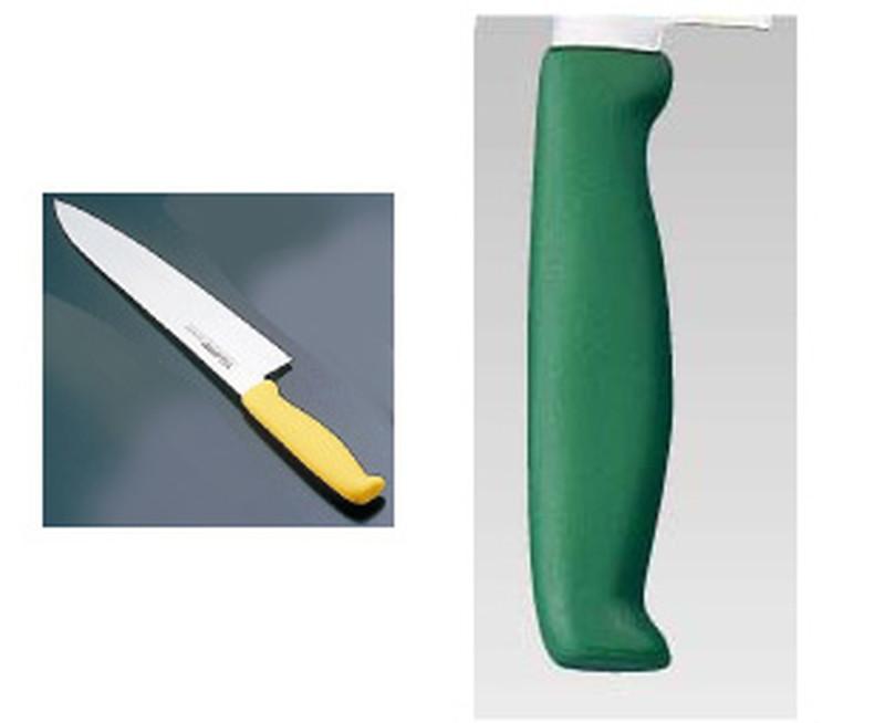 エコクリーン トウジロウ カラー牛刀 30cmグリーンE-239G 7-0315-0920 洋庖丁(牛切) (TKG17-0315)