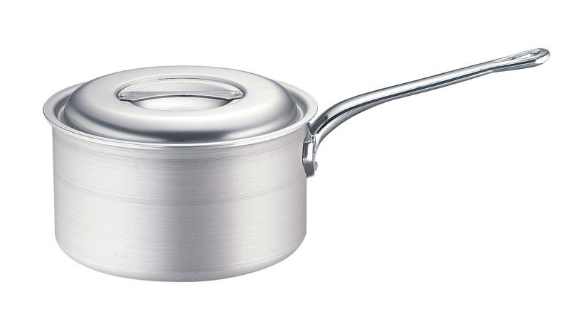 [TKG16-0031] TKG IHアルミ 深型片手鍋(目盛付)  30cm