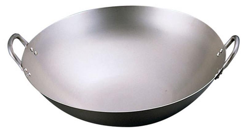 [TKG16-0381] SA純チタン 中華鍋  39cm