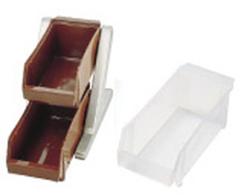 SA18-8 デラックス オーガナイザー 2段1列(2ヶ入)ホワイト 7-0814-0105 カトラリーボックス (TKG17-0814)