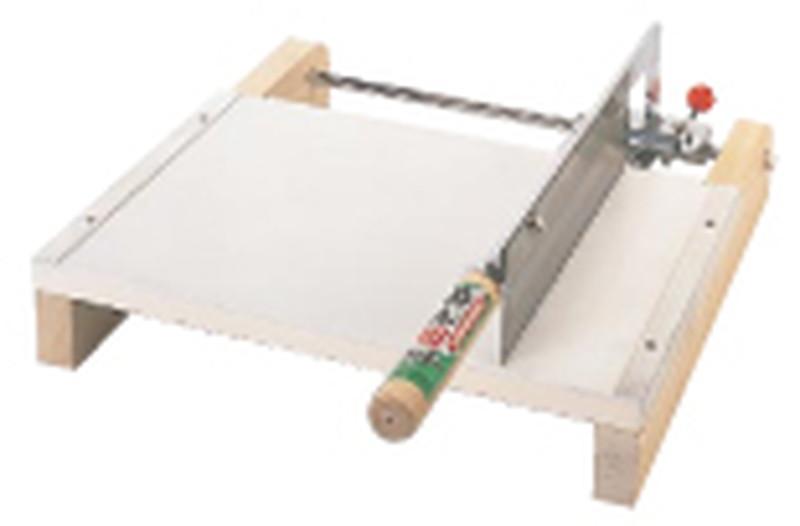 [TKG16-0360] 木製 麺切カッター 12型