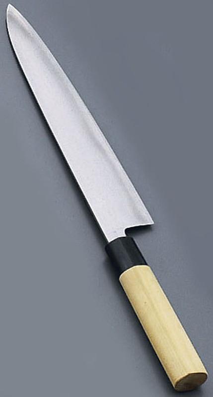 [TKG16-0273] 堺實光 匠練銀三 和牛刀(両刃) 24cm37635