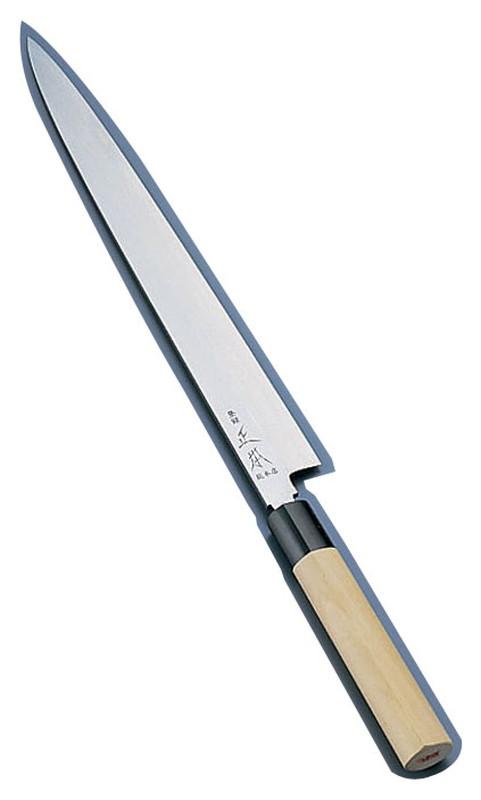 [TKG16-0275] 正本 コバルト鋼 柳刃刺身包丁  33cm