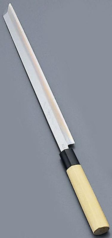 [TKG16-0273] 堺實光 匠練銀三 蛸引 切付(片刃) 30cm10719