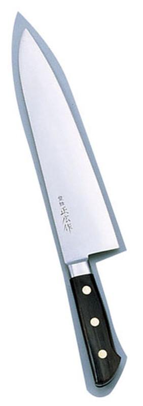 [TKG16-0290] 正広 本職用日本鋼 洋出刃13020  21cm