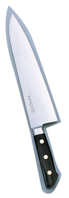 [TKG16-0290] 正広 本職用日本鋼 洋出刃13021  24cm