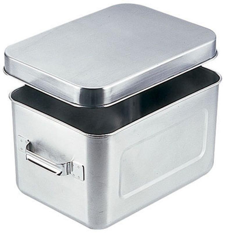 [TKG16-0148] 18-8保温・保冷バット マイルドボックス サラダ用7l(蓋付)004