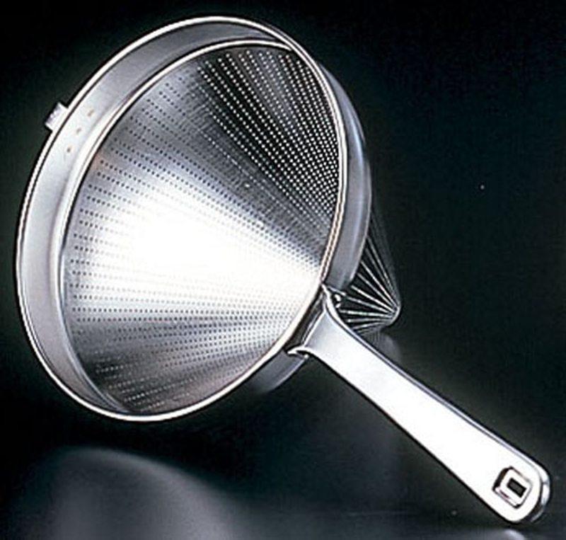 [TKG16-0408] 18-8スープ漉し 27cm