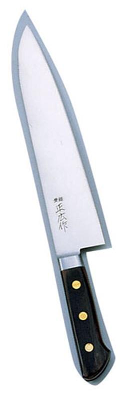 正広 本職用日本鋼 牛刀 13013 27cm 7-0300-0204 洋庖丁(牛切) (TKG17-0300)