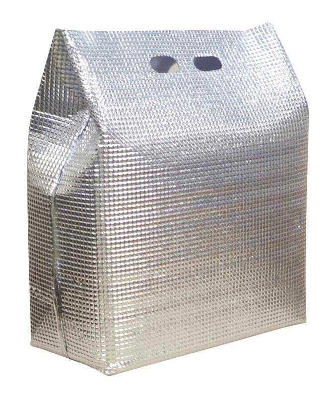 [TKG16-0165] 保冷・保温袋 アルバック 自立式袋  (50枚入)LWサイズ
