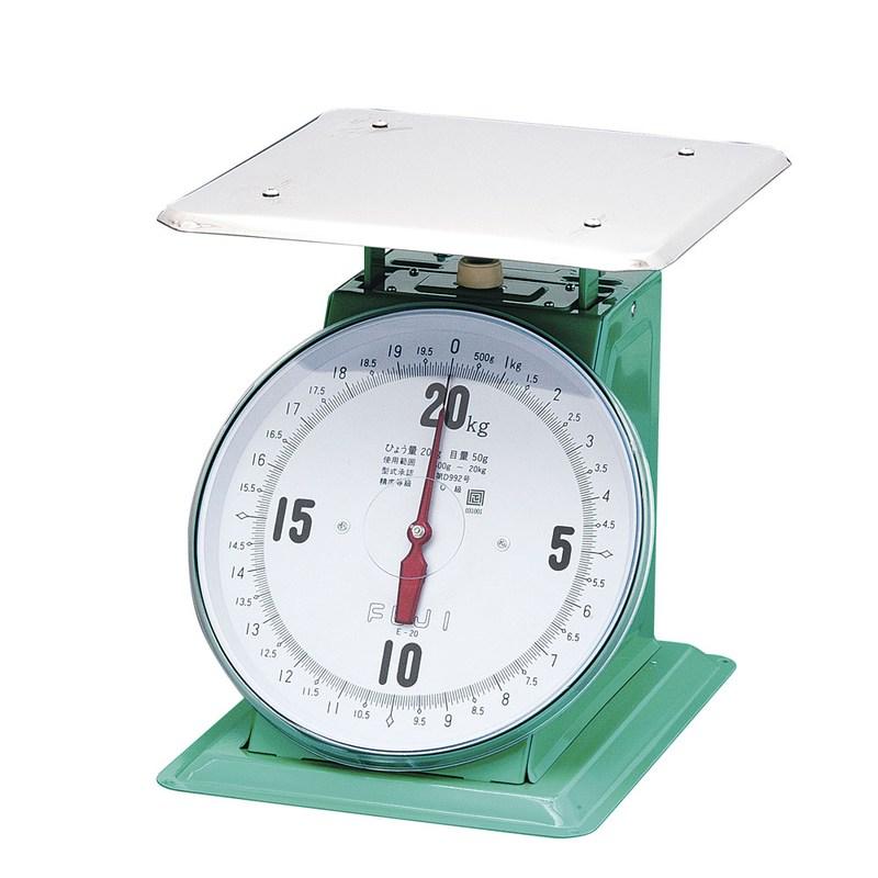 [TKG16-0541] フジ 上皿自動ハカリ 特大E型  20kg(平皿付)