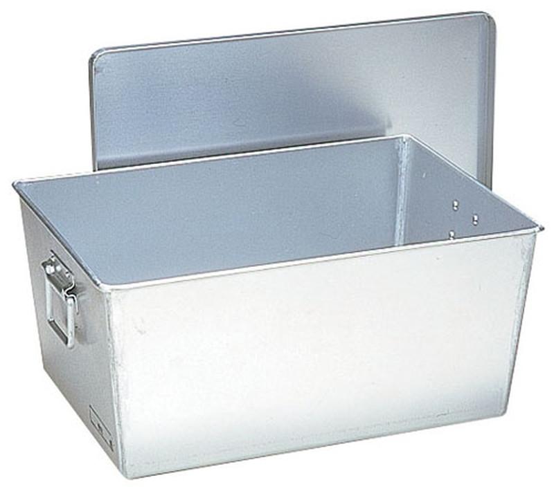 [TKG16-0146] アルマイト 給食用パン箱深型(蓋付) 25960個入