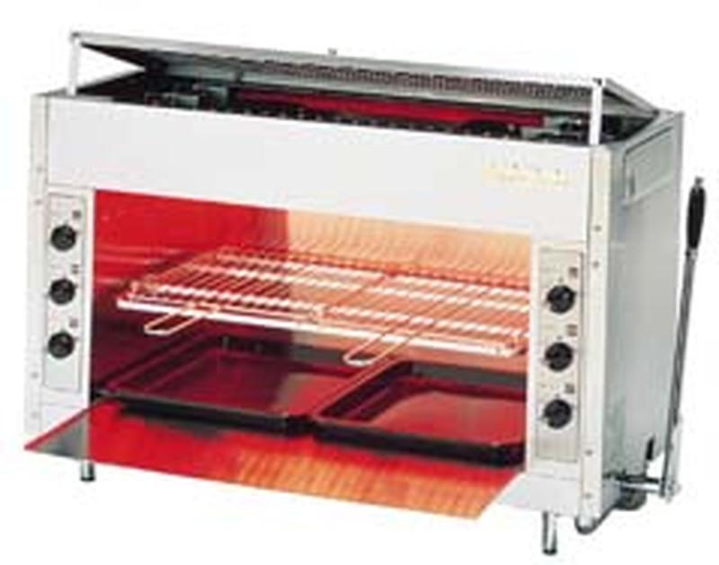 [TKG16-0671] ガス赤外線グリラー リンナイペット(大) RGP-46SV12・13A