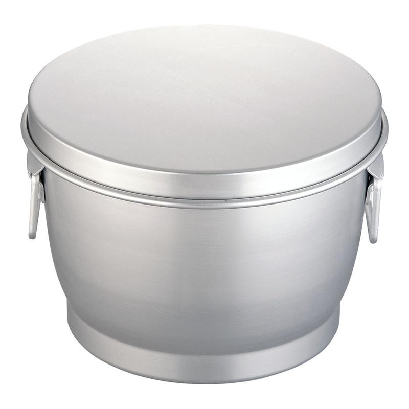 [TKG16-0147] アルマイト炊飯二重食缶 264-B(10l)
