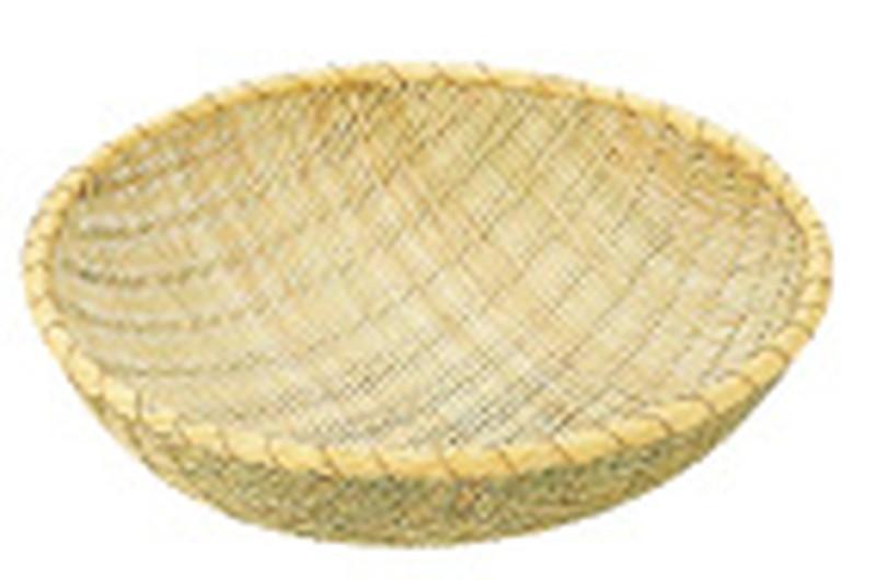 [TKG16-0258] 竹製 揚ざる 54cm