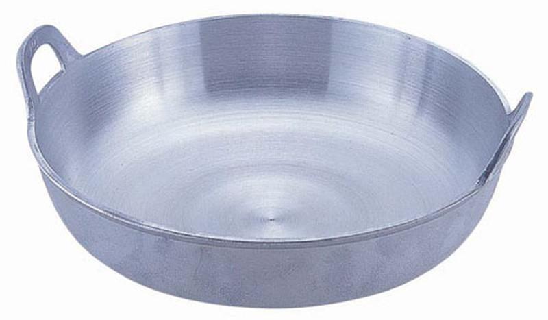 [TKG16-0387] アルミイモノ 揚鍋 39cm