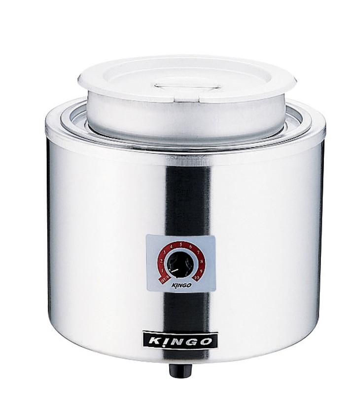 [TKG16-0729] KINGO 湯煎式電気スープジャー 7L D9001