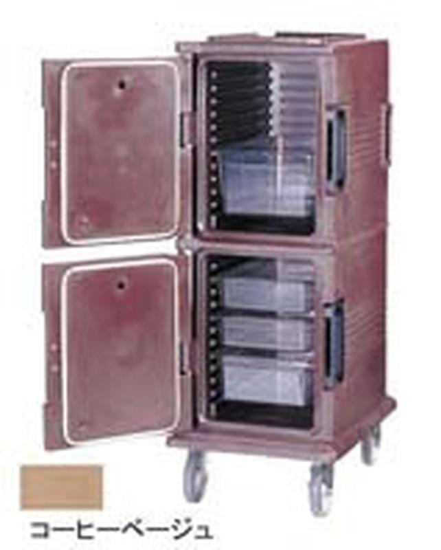 CAMBRO キャンブロ フードパン用カムカート UPC800コーヒーベージュ 6-1093-0501 コンテナー(保温・保冷用)