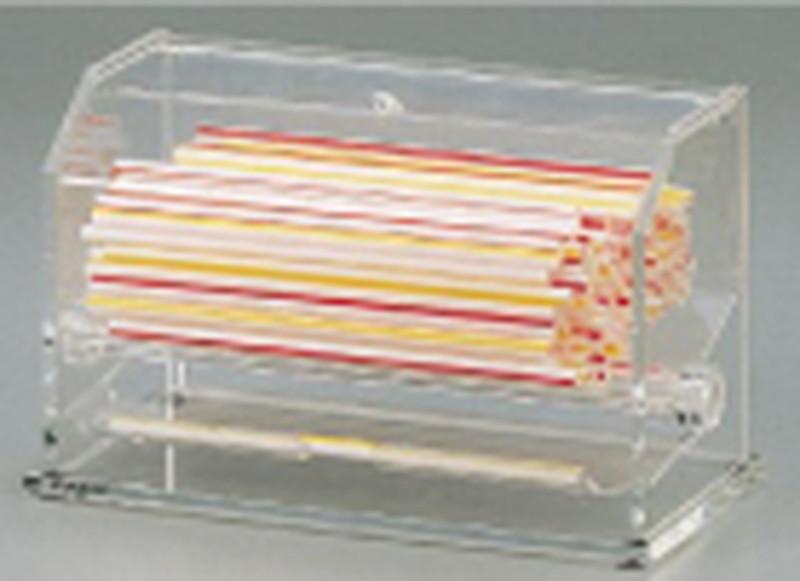 [TKG16-0868] ストローディスペンサー 裸ストロー用 SSD100