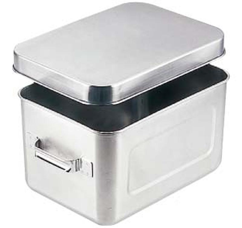 [TKG16-0148] 18-8保温・保冷バットマイルドボックス  5l006(蓋付)