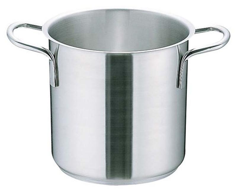 [TKG16-0005] ムラノ インダクション18-8寸胴鍋 (蓋無)40cm