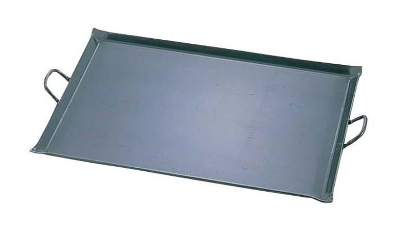 [TKG16-0899] 鉄 極厚プレス式 バーベキュー鉄板  小