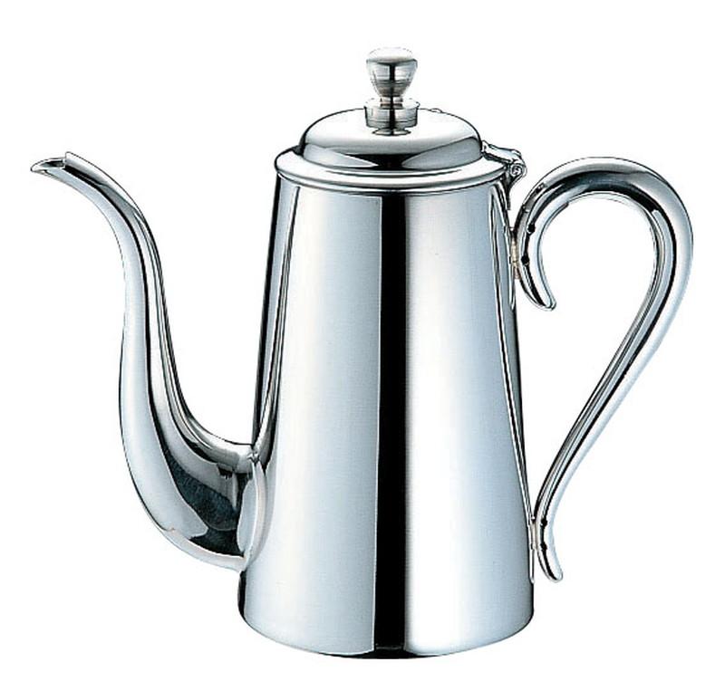 [TKG16-1747] UK18-8 M型コーヒーポット   5人用
