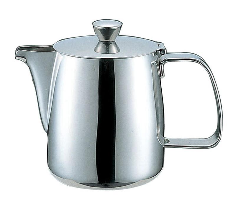 [TKG16-1747] UK18-8 Bタイプ型コーヒーポット 1000cc