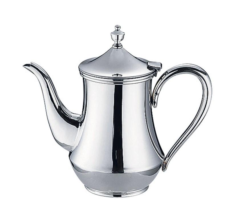 [TKG16-1748] ES 18-8 ダイヤ型コーヒーポット 7人用