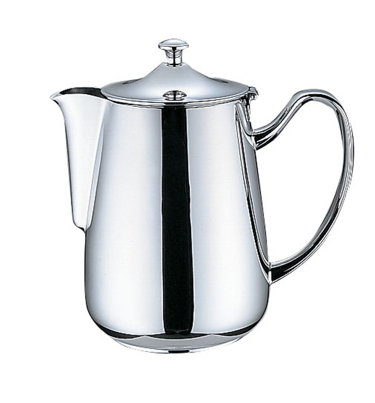 [TKG16-1749] UK18-8 プレスト シリーズ  コーヒーポット 10人用