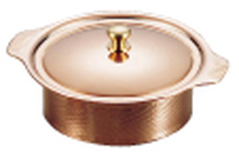 [TKG16-1675] SW 銅丸型キャセロール 14cm