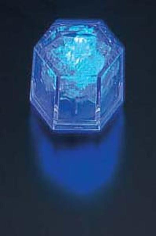 [TKG16-1582] ライトキューブ・クリスタル 高輝度 (24個入)ブルー