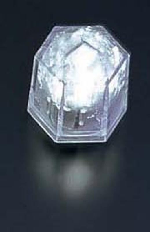 [TKG16-1582] ライトキューブ・クリスタル 高輝度 (24個入)ホワイト
