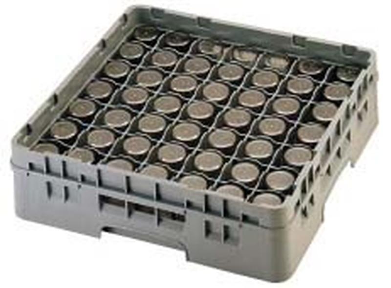 CAMBRO キャンブロ 49仕切 グラスラック 49G1238 7-1181-0506 ラック(食器・グラス用)