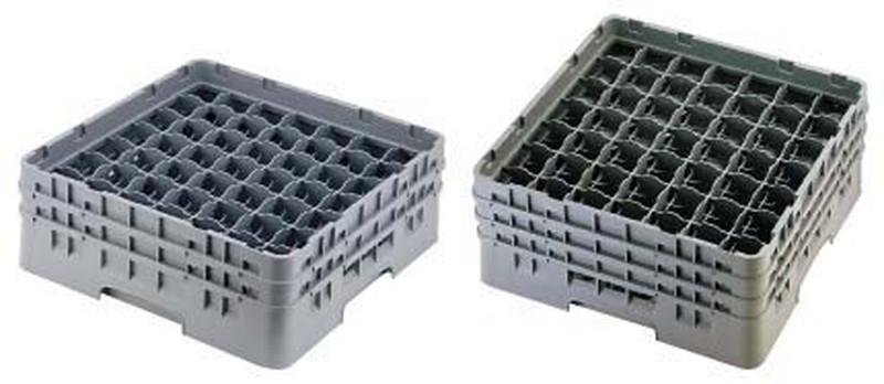 CAMBRO キャンブロ 49仕切 ステムウェアラック 49S1114 7-1182-0506 ラック(食器・グラス用) (TKG17-1182)