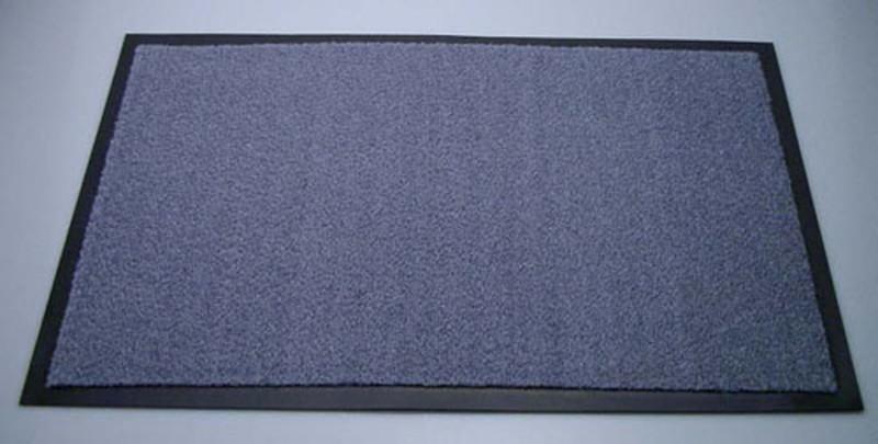 シルビアマット 900×1200mm グレー 6-1298-0509 玄関マット