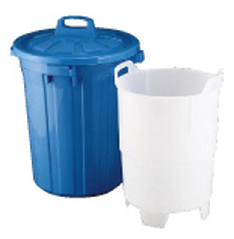 生ゴミ水切容器 GK-60 (中容器付) 6-1262-0801 ゴミ箱(集積用)