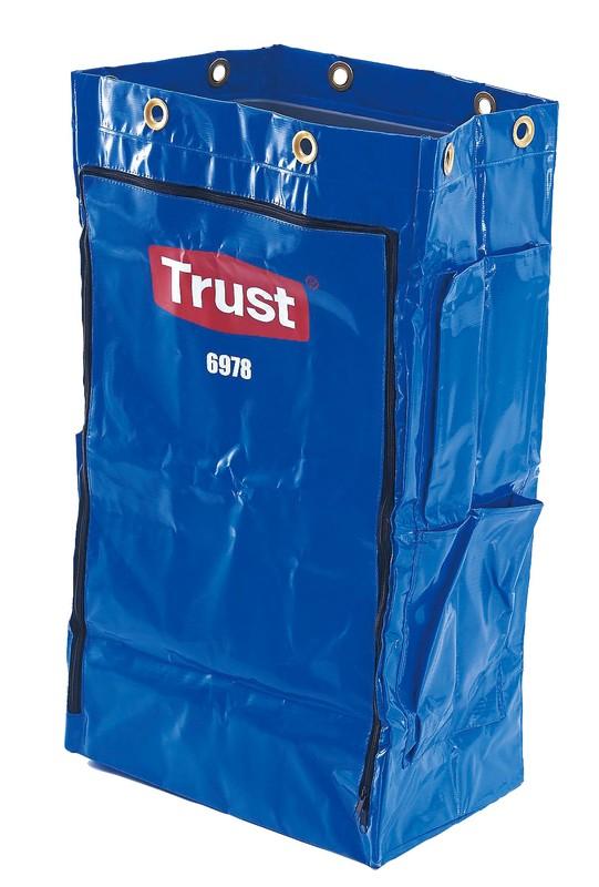 Trust トラスト クリーニングカート用 ポリライナー6978ブルー 6-1219-0202 クリーニングカート