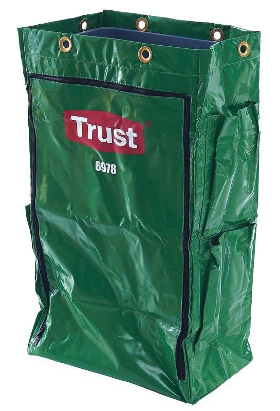 Trust トラスト クリーニングカート用 ポリライナー6978グリーン 6-1219-0203 クリーニングカート