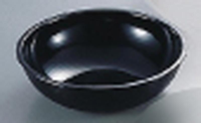 [TKG16-1465] キャンブロ 丸型リブタイプサラダボール RSB23CW(ブラック)