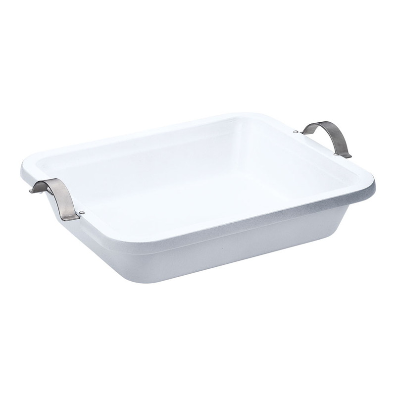 [TKG16-1440] UK IHアルミキャスト角フードパン手付 セラミック塗装2/3