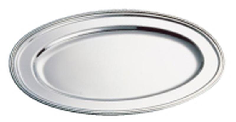 SW18-8 B渕小判皿 (魚皿兼用)40インチ 6-1543-0216 小判皿(洋食宴会用)