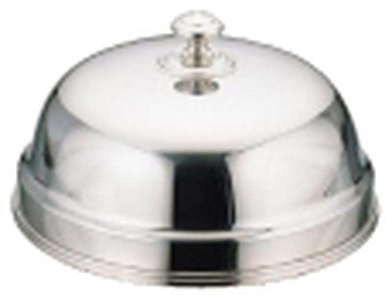 [TKG16-1546] UK18-8丸皿カバー 27cm