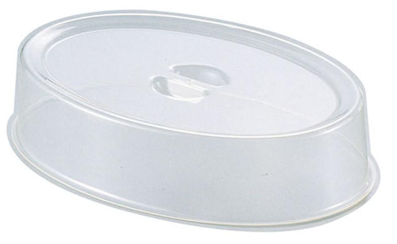 [TKG16-1546] UKポリカーボスタッキング小判皿カバー 22インチ用