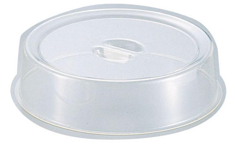 [TKG16-1546] UKポリカーボスタッキング丸皿カバー 16インチ用
